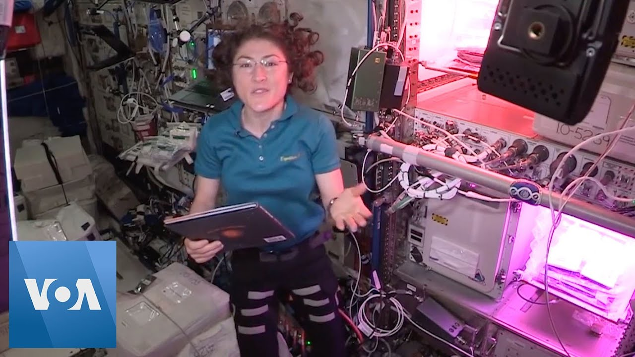 Astronauts Aboard ISS Entertain, Educate Children - VOA News