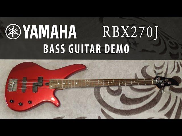 Yamaha RBX 270J - Bass guitar (Demo)
