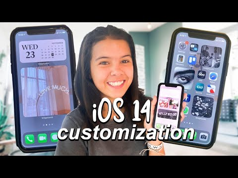 how to CUSTOMiZE your iPhone with iOS 14!! + what's on my iPhone!
