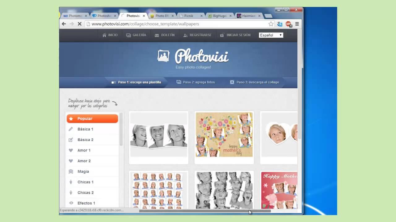 Pagina web para arreglar fotos gratis