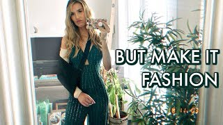 BROKEN ELBOW BUT MAKE IT FASHION | leighannvlogs
