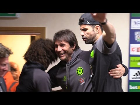 Antonio Conte 'Kidnapped' By His Players After Chelsea Win The League
