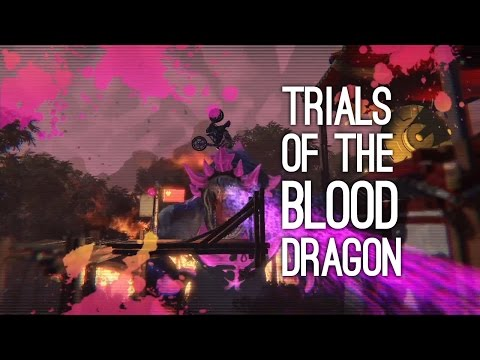 Trials of the Blood Dragon Trailer: Trials Fusion Blood Dragon at E3 2016