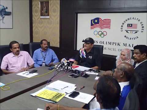 Sidang Media Malaysian Athletics Federation (MAF) 13 Disember 2017 @ OCM