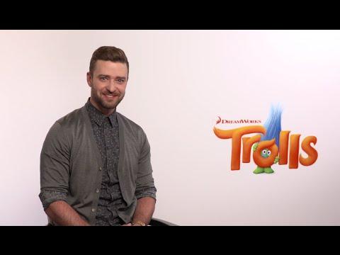 "Justin Timberlake - ""Trolls"" Press Medley Interviews 2016"
