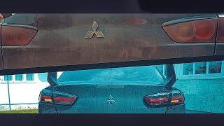 Mitsubishi Lancer Х Замена задних фонарей на светодиодные
