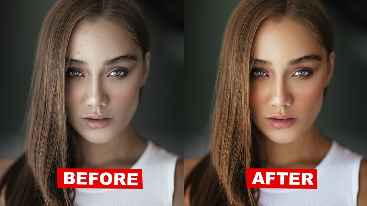 How to REMOVE Spots & Blemishes in Photoshop