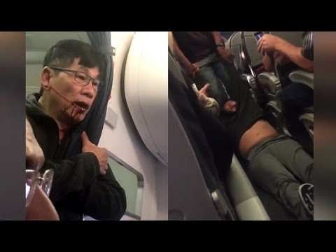 Thumbnail: Uproar Grows After United Airlines Brutally Drags Paying Customer Off Overbooked Flight