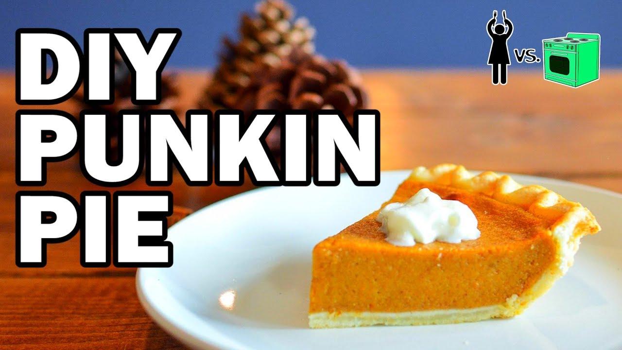 DIY Punkin Pie, Corinne Vs Cooking