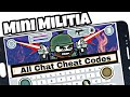 Doodle Army 2 : Mini Militia All Chat Cheat Codes Android In Hindi Video By Ultra Mind 2018