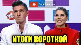ИТОГИ КОРОТКОЙ ПРОГРАММЫ Пары Чемпионат России по Фигурному Катанию 2021 Челябинск