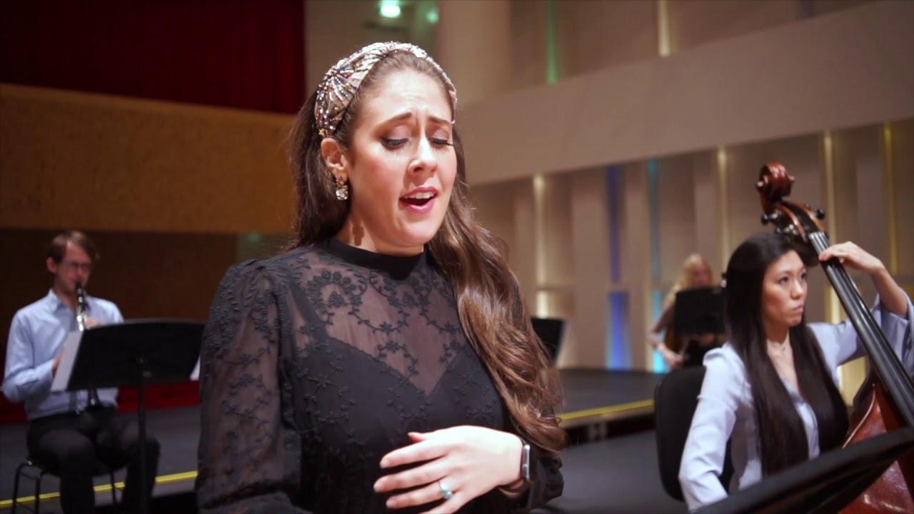 Alma Mahler: Vier Lieder / Katherine Weber . Zemlinsky Chamber Orchestra