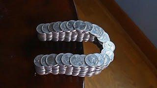Amazing Balancing Coins - Challenge