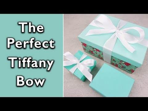 How to tie the Perfect Tiffany and Co bow | Eternal Stationery
