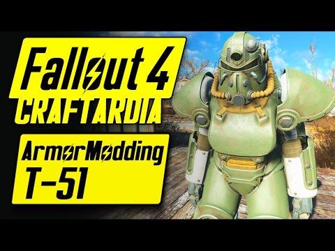Fallout 4 Power Armor Customization - T-51 Power Armor - Fallout 4 Armor Modding [PC]