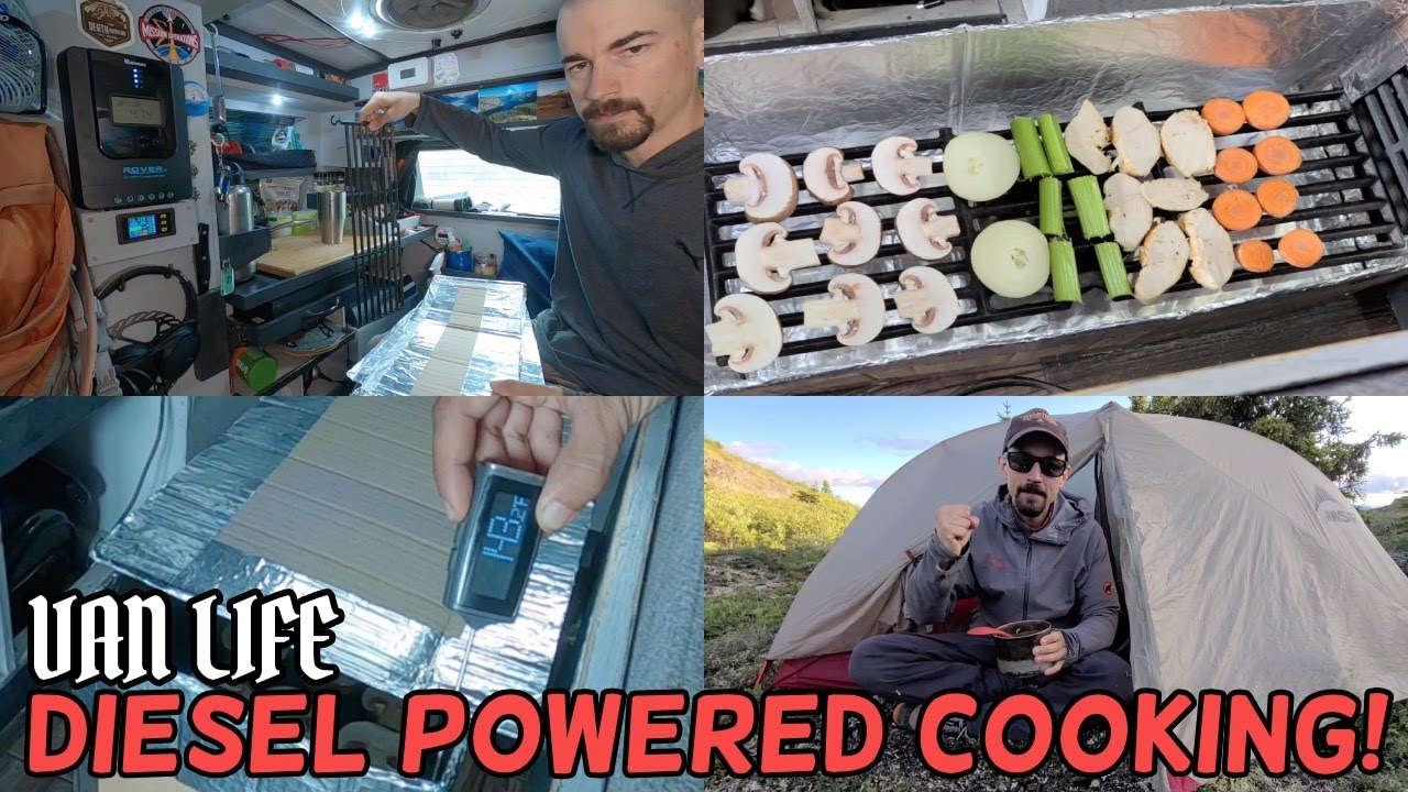 Make a Meal with a Diesel Heater!