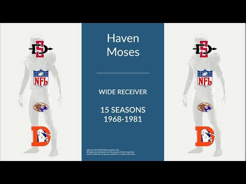 Haven Moses: Football Wide Receiver