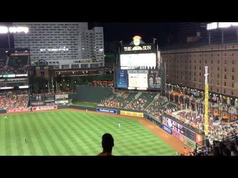 Baltimore Orioles 8-17-15!!!!!! Chris Davis Rob Of A Home Run