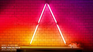 Download Axwell Λ Ingrosso - More Than You Know (AtellaGali Remix) MP3 song and Music Video