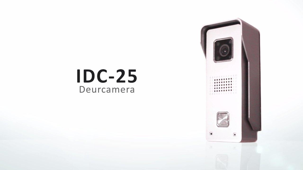 Elec Idc 25 Wifi Deurbel Met Camera Youtube