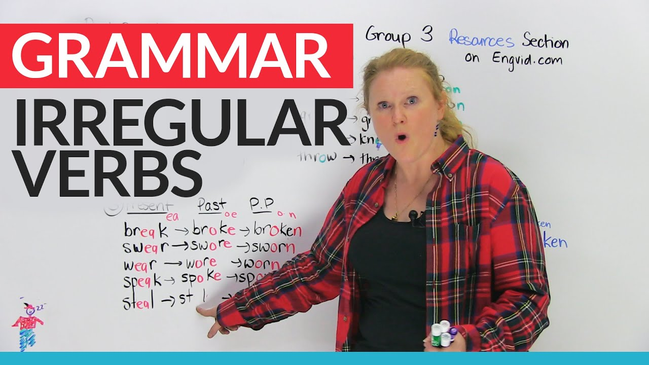 What Are Irregular Verbs