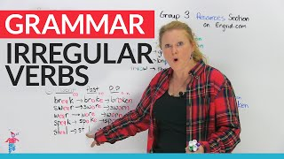 Irregular Verbs in English – Group 3