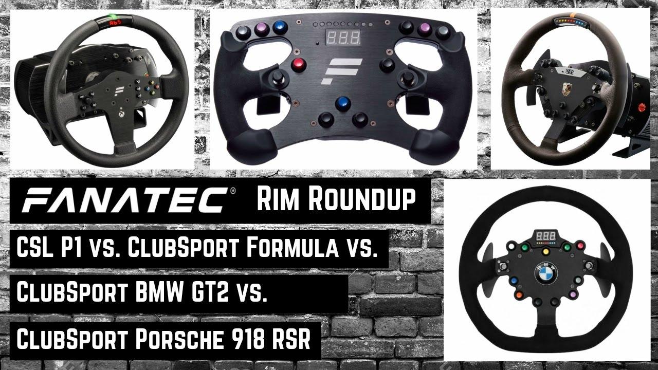 fanatec clubsport formula vs bmw m3 vs porsche 918 vs. Black Bedroom Furniture Sets. Home Design Ideas