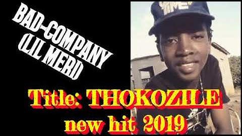 BAD COMPANY(LIL MERI)_THOKOZILE(ZULU LADY) NEW HIT #2019 #BossTERRY#LILMERI_#BOSS_THACKZITHO