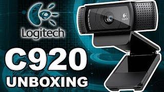 Unboxing / Review - Webcam Logitech C920 HD