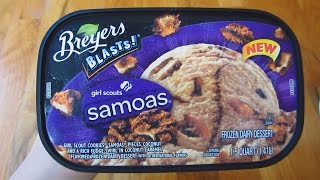 Breyers Ice Cream - New Girl Scouts Samoas Unboxing Thumbnail