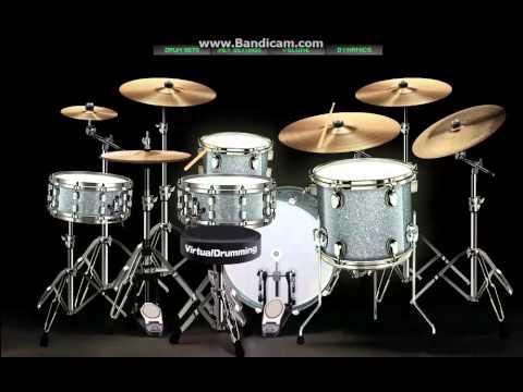 virtualdrumming.com republik selimut tetangga drum cover