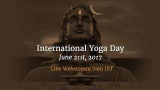 International Day of Yoga 2017 - Live from Isha Yoga Center