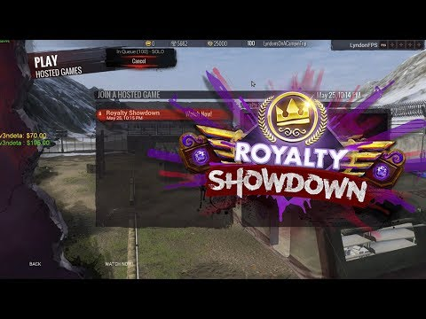 Royalty Showdown 2017 | H1Z1 KotK