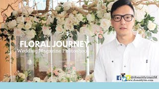 WEDDING MAGAZINE PHOTOSHOOT | FLORAL JOURNEY |
