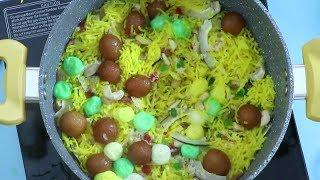 Zarda Rice Recipe | How To Make Zarda Rice | Volga Videos