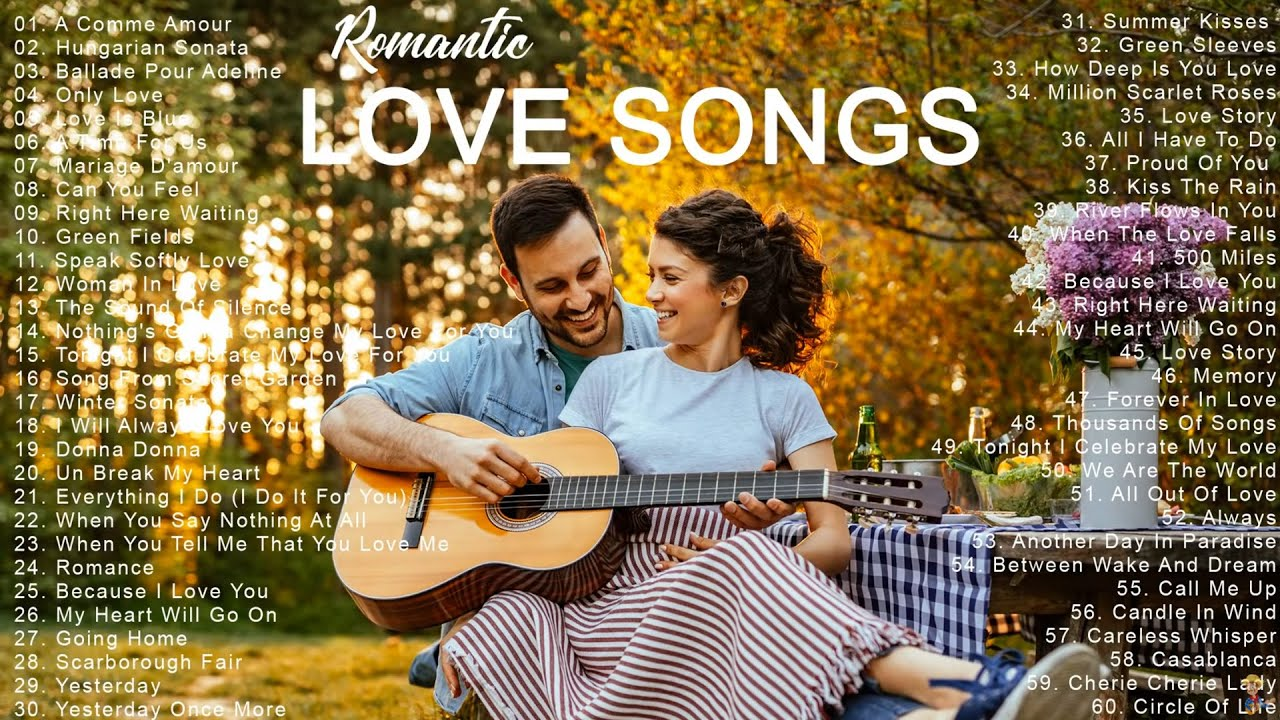 Romantic Guitar 💖 Most Old Beautiful Love Songs 80's 90's 💖 Best Romance Melody of Love