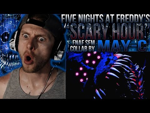 Vapor Reacts #661  FNAF SFM COLLAB FNAF TWISTED SONG ANIMATION Scary Hour  May C REACTION!!