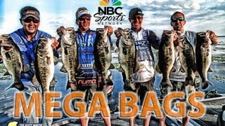 Lake Okeechobee Giant Bass Battle Part 1 - Scott Martin vs. Jacob Wheeler