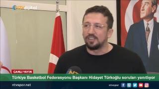 (CANLI) Hidayet Türkoğlu, NTV'nin sorularını yanıtlıyor