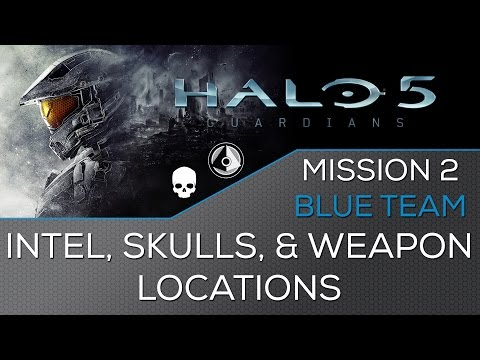 Halo 5: Guardians - All Collectible Locations - Mission 11: Before ...