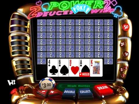 3D Casino Launches New Deuces Wild Video Poker Game