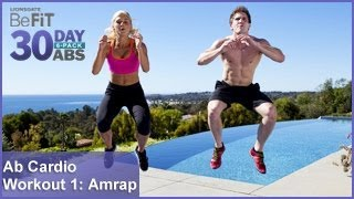 Ab Cardio Workout 1: Amrap   30 DAY 6 PACK ABS