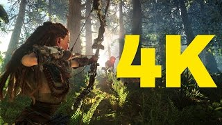 Horizon Zero Dawn PS4 Pro 4K vs. 1080p Graphics(We sat down with Horizon's Studio Art Director, Jan-Bart van Beek, to talk about Horizon: Zero Dawn's breathtaking 4K visuals. 12 Minutes of Horizon: Zero ..., 2017-01-31T06:17:29.000Z)