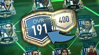 191 OVR!!! THE BEST TEAM EVER!! FIFA Mobile 20 - The Greatest Full Prime Icon Team!!!