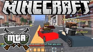 "Minecraft Dad E129 ""Mine Theft Auto!"" (Family Multiplayer)"