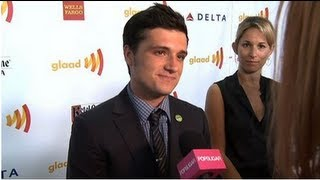 Josh Hutcherson Excited to Work With Francis Lawrence and Max Adler Talks Glee