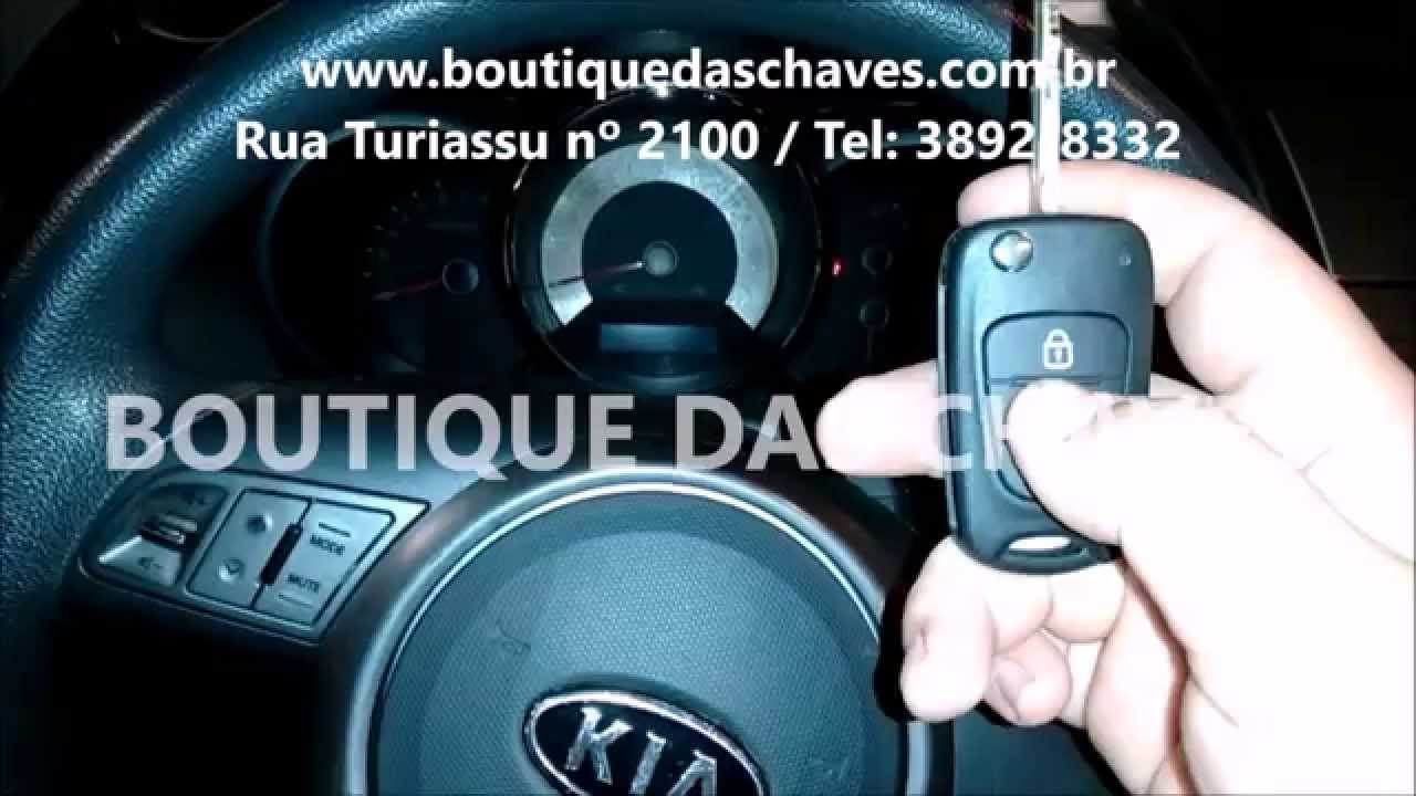 copia de chave canivete kia soul youtube. Black Bedroom Furniture Sets. Home Design Ideas