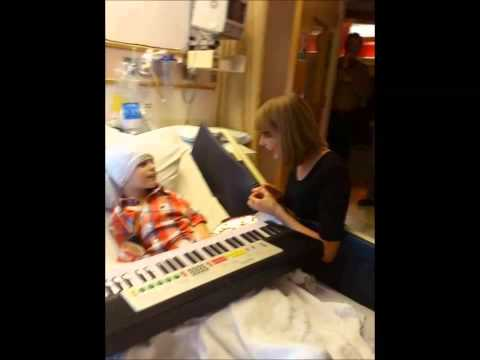 Taylor Swift and Childhood Cancer
