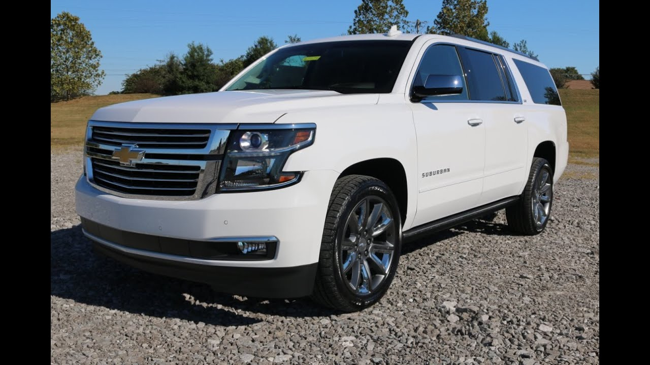 2016 Chevy Suburban LTZ 4X4 4WD w/the all-new Lane Keep ...