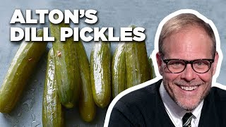 Alton Brown Makes Homemade Dill Pickles | Good Eats | Food Network